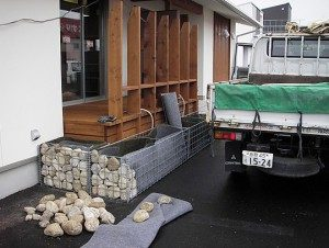 りふれがーでん鳥取安長店 植栽工事施工例