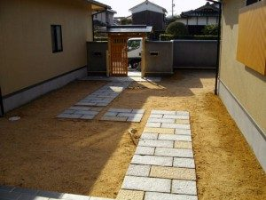 M様邸 庭園工事施工例