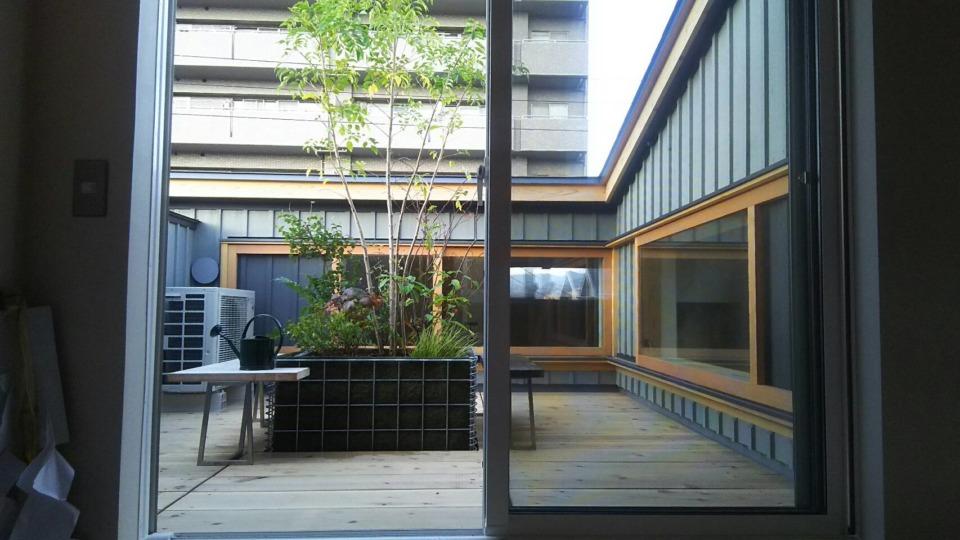N様邸 屋上緑化工事施工例